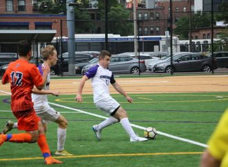 Emerson College's men's soccer captain takes a kick in a different direction