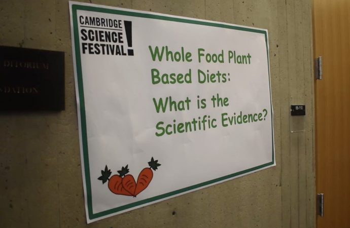 Explaining the science behind a whole food plant-based diet