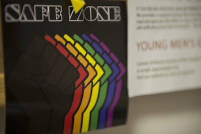 A lot of LGBTQ youth were kicked out by their families. Drop-in centers become their safe zone.