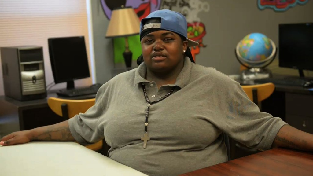 Gwen Andrews, 20, Aged out of DCF care 2 years ago.