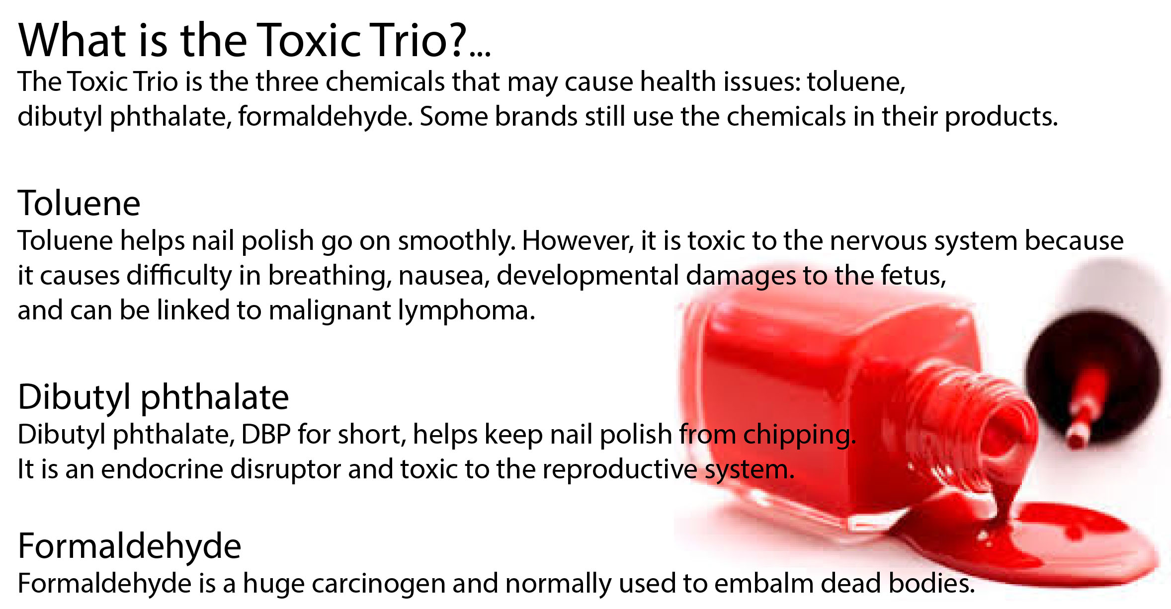 Does Your Nail Polish Contain Toxic Chemicals Survive And