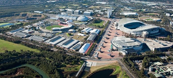 The Sydney Olympic Park is now a multi-purpose venue for entertainment, shopping, and restaurants. www.sopa.nsw.gov.au