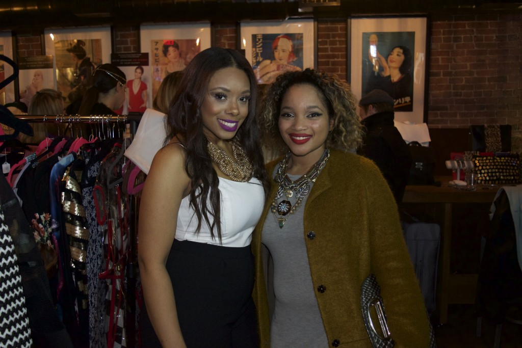 The Haute House Design Studio owner, Taneshia Camillo-Sheffey, and associate, Raina Jacques.