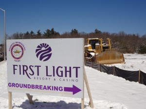 Site of First Light groundbreaking