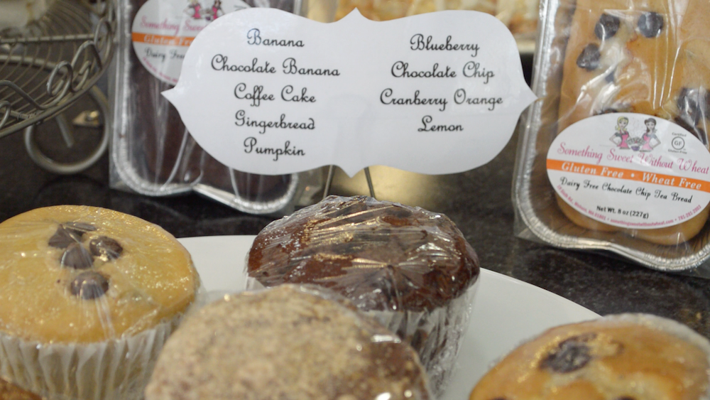 Dairy-free and gluten-free muffins from Something Sweet Without Wheat bakery. Photo by Kelly Thomas