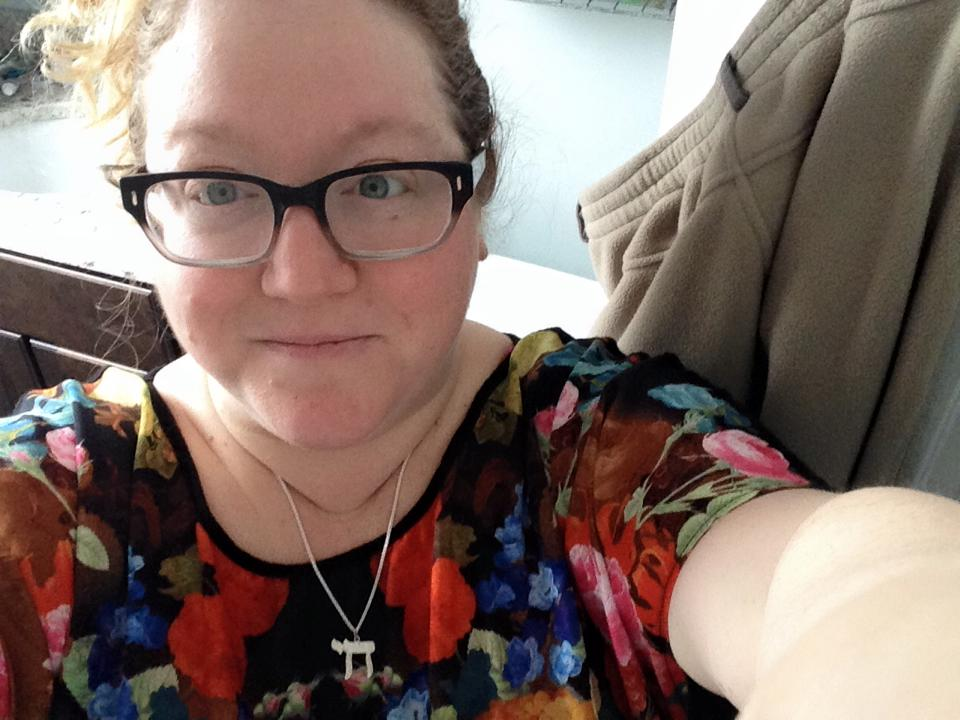 A fashion-forward selfie Tranquilli-Bausher posted to her Facebook in 2015. Photo courtesy of Anne Tranquilli-Bausher.