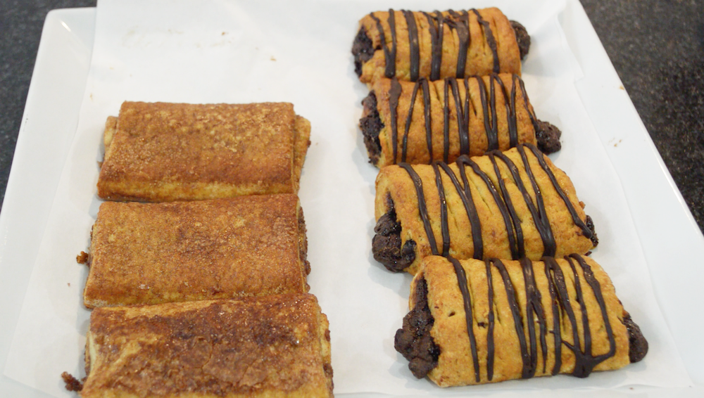 Cinnamon and chocolate croissants from Something Sweet Without Wheat bakery. Photo by Kelly Thomas
