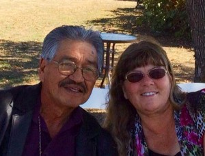 Gene Sloan with his wife Alice Langton-Sloan. Gene says he is a victim of disenrollment.