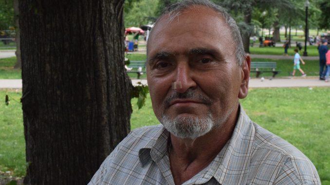 , John Intonti has been homeless for five years. (Photo: Nyan Lynn)