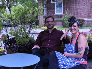 Jon Goodman and Nicole Walsh