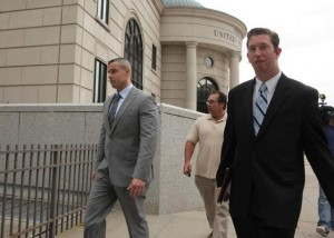 6 Aaron Hess exits courthouse