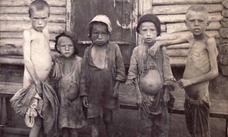 NEH russia famine victims